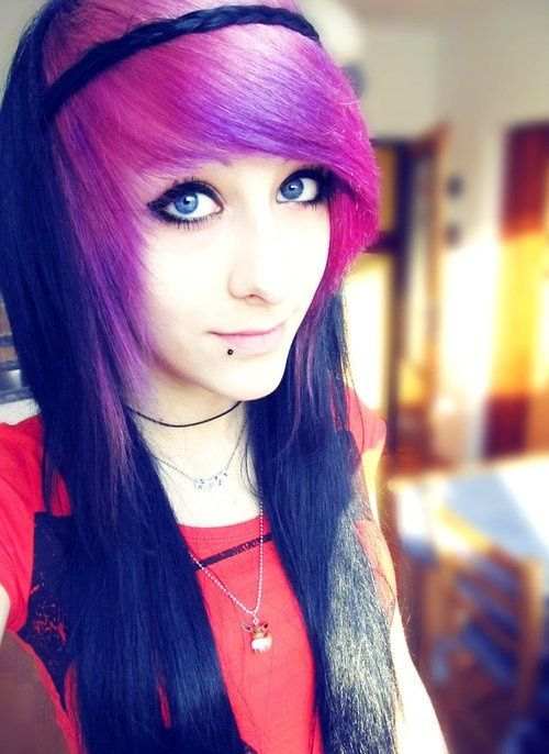 Cool Emo Haircuts for Girls