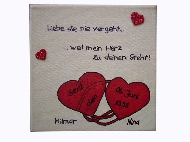 Romantischer Keilrahmen für einen besonderen Menschen! Nicht nur als Liebeserklärung, man kann damit auch einen anderen Lieben Menschen eine Große ...