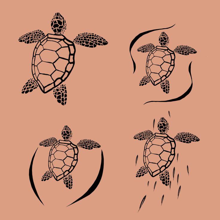 sea turtle tattoo - Google Search