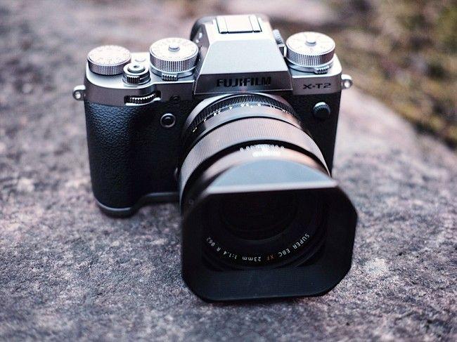 La Fujifilm X-T2 baja de precio al tiempo que recibe una actualización de su firmware #cameras #photography #Fujifilm