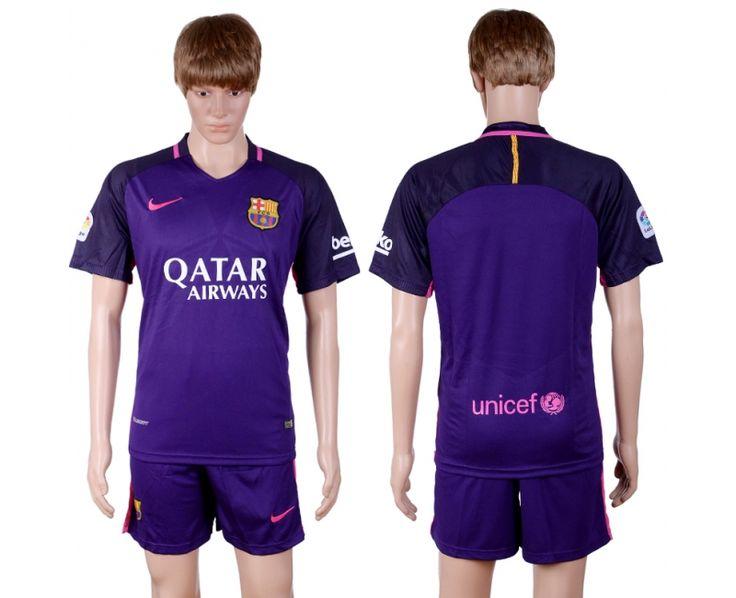 deeeea1f ... Away Pink Womens Jersey A171 camiseta de futbol baratas barcelona 2016  2017 segund equipacion Capitán Iniesta (Andrés Iniesta) dijo ...