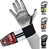 RDX Weight Lifting Wrist Wraps Gym Straps Crossfit Bodybuilding Power Training Workout Exercise - https://www.trolleytrends.com/?p=762153