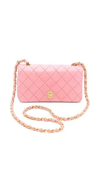 Vintage Pink Chanel Perfection!!! Bebe'!!! Pink quilted leather Chanel purse...classic Chanel bag!!!