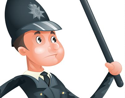 """Check out new work on my @Behance portfolio: """"Vector Brave Policeman Vector Illustration Security"""" http://be.net/gallery/53749211/Vector-Brave-Policeman-Vector-Illustration-Security"""
