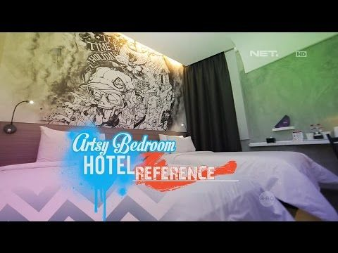 Artsy Bedroom Hotel Reference - dSIGN - YouTube