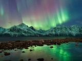 Solar Storms Spark Aurora Borealis