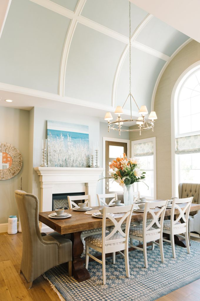 beautiful blue filled dining room 1156 best Dining