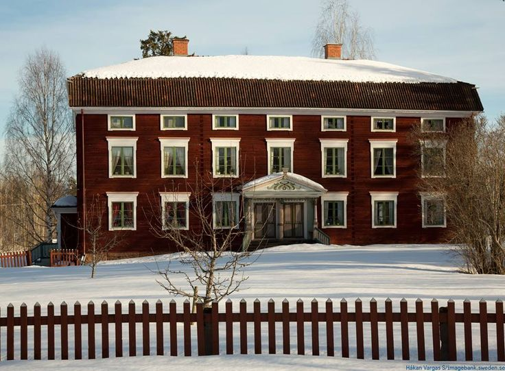 Decorated Farmhouses of Hälsingland,Hälsingegårdar,were inscribed on UNESCO´S World Heritage List in 2012