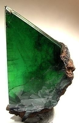 Vivianite is an iron phosphate mineral. It occurs as a secondary mineral found in a number of geological environments.