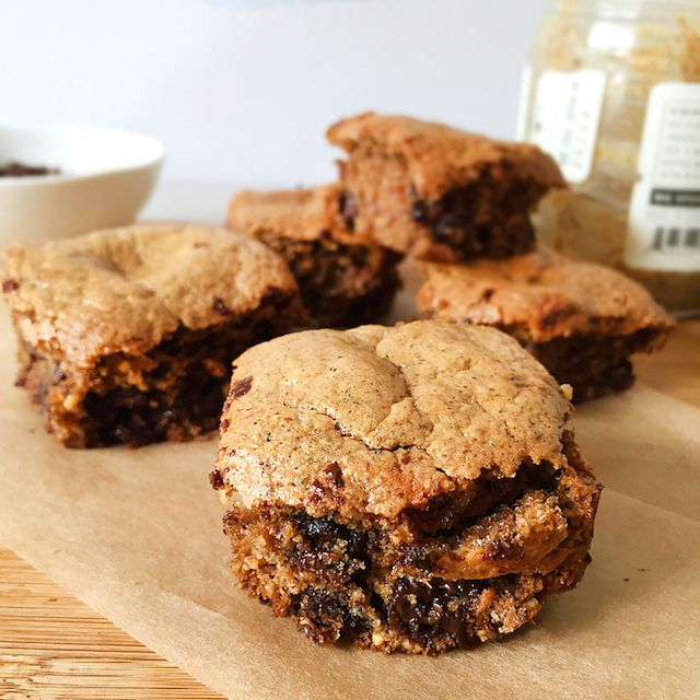 Almond Butter Brownies...gluten-free and so good!