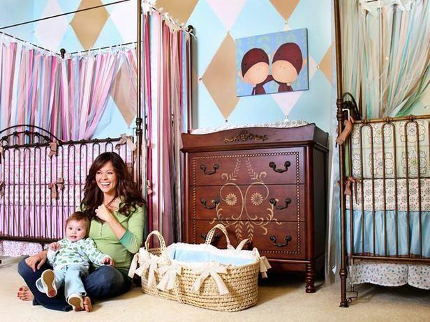 Brooke Burke's nursery for two!