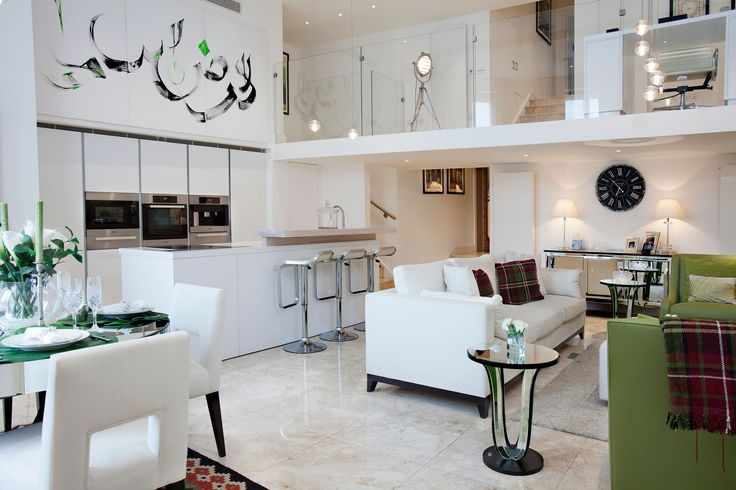 Open Plan Kitchen Interior | JHR Interiors