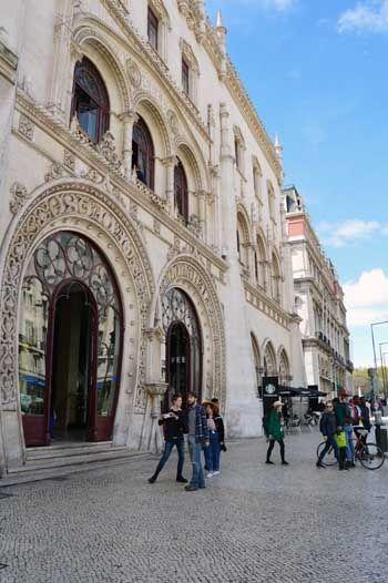 Rossio Rail Station Lisbon - Portugal