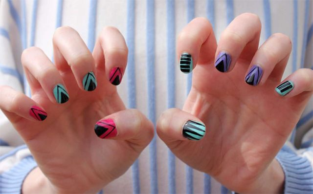 DIY Nail Art: Tribal-Inspired Designs | Beauty Blitz