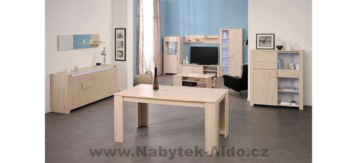 Nábytek do jídelny i obývacího pokoje Waren 0122