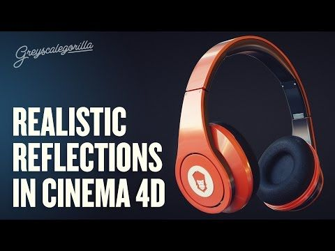Cinema 4D Tutorial // 3 Tips For More Realistic Reflections - YouTube