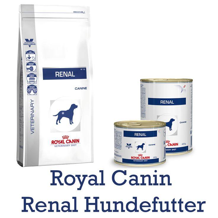 Royal Canin Veterinary Diet Renal (RF 14) Hundefutter Trockenfutter und Nassfutter in Dosen für Hunde mit Nierenerkrankungen Royal Canin Veterinary Diet Renal Hundefutter ist ein Diätfuttermittel und Sie erhalten diese...