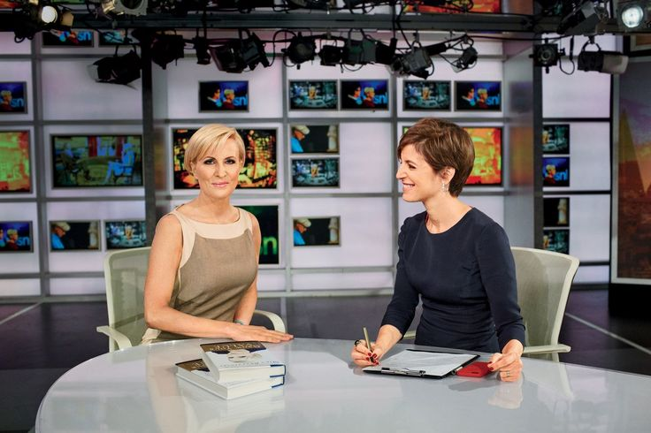 """Morning Joe cohost Mika Brzezinski has built a whole second career out of cheering women on. Glamour's Cindi Leive got her salary-boosting tips for you. (Mika Brzezinski was being payed 14 times less than her male cohost until she changed that). 