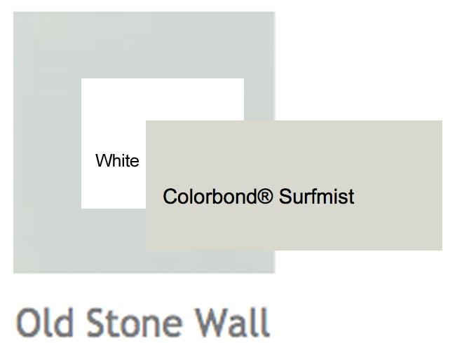 Render - Porters Old Stone Wall   Windows & Trim - White   Roof - Surfmist