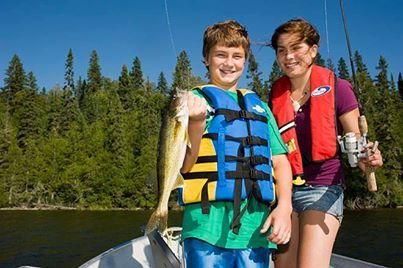Fishing is great with family and friends! #algomacountry