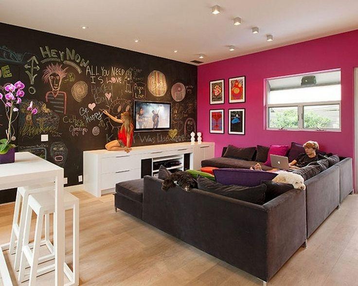 17 Best Ideas About Teen Game Rooms On Pinterest Teen Basement Teen Hangout Room And Gameroom