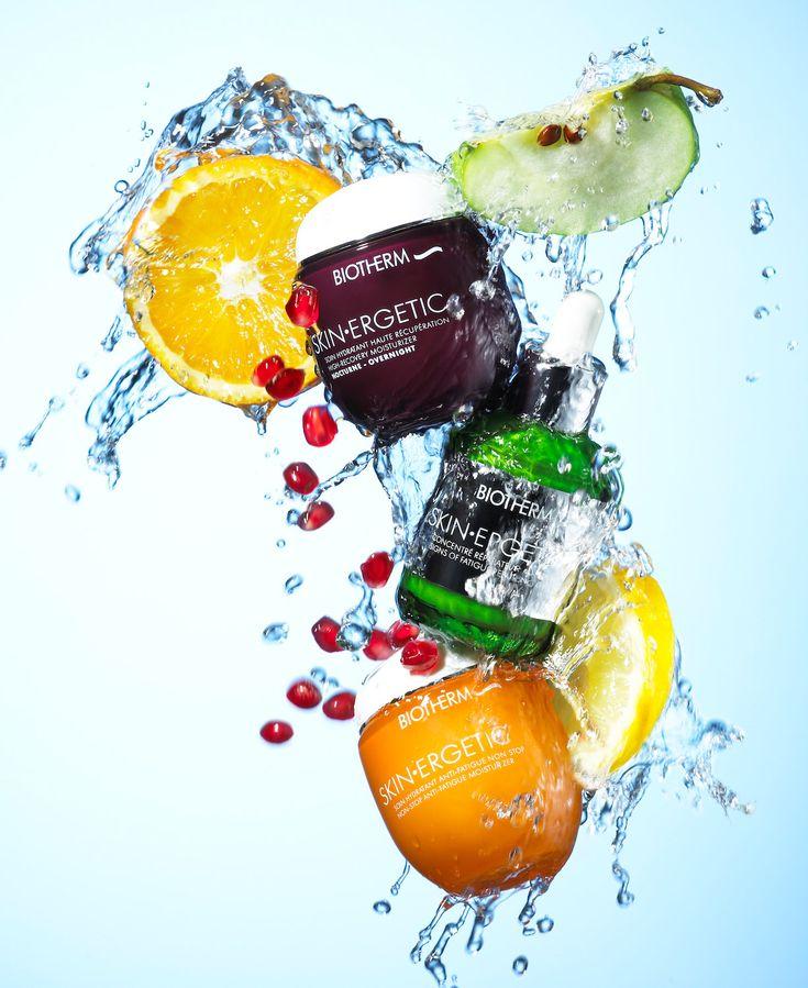 Still Life Product Photographer Pedersen cosmetic cream beauty splash water liquid fruit hydrate fresh