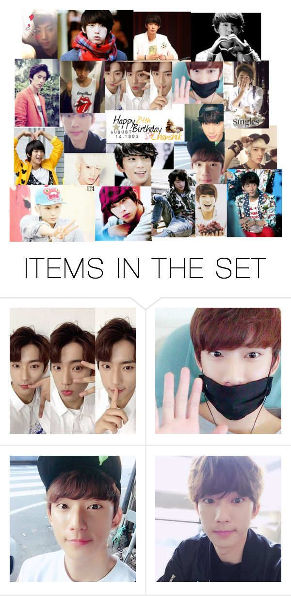 """Happy 24th Birthday Gongchan"" by carrie-lynn ❤ liked on Polyvore featuring art"