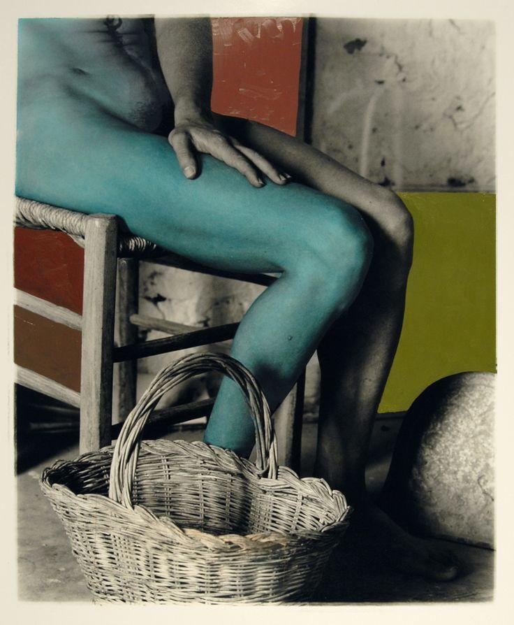 George Woodman, Nancy with a Green Leg, 2005