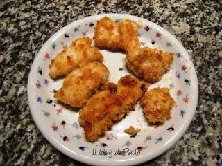 Antipasti e non solo.....: Bocconcini di pollo impanati con i Ritz#petto pollo#ritz