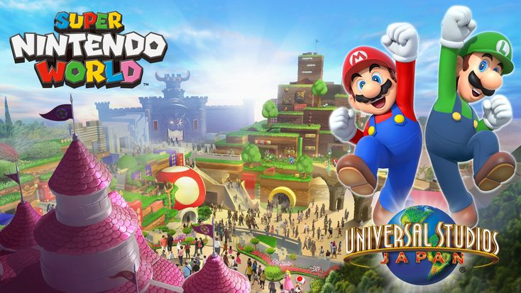 Un parc d'attractions Super Nintendo World ouvrira ses portes au Japon pour 2020