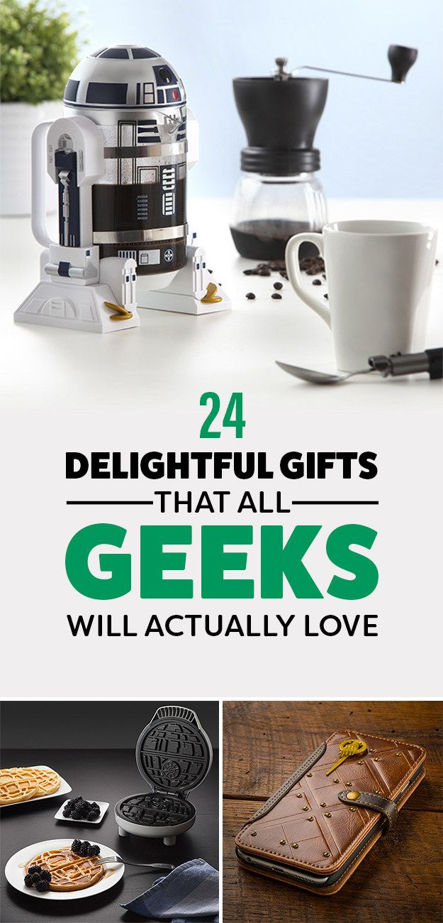 24 Really Cool Gifts For All The Geeks In Your Life