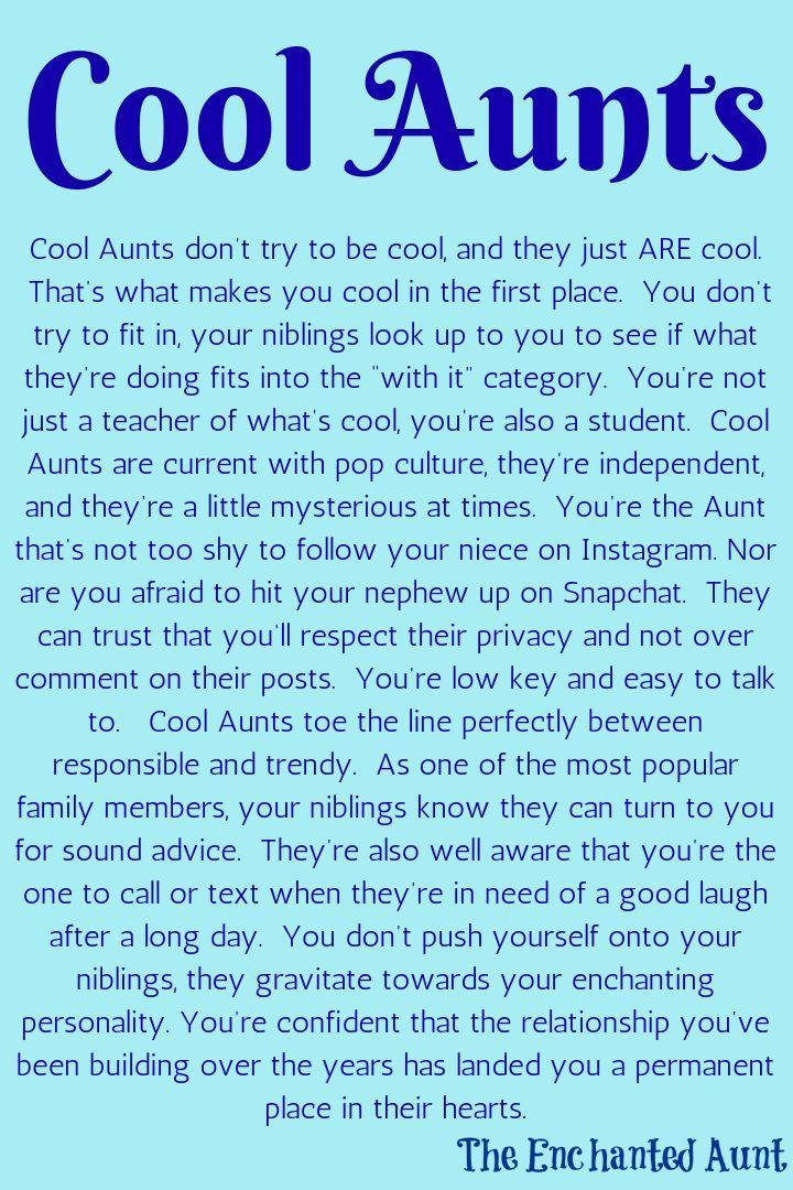 Read About The 4 Different Types Of Aunts Aunt Quotes Niece Quotes Auntie Quotes