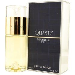 QUARTZ by Molyneux EAU DE PARFUM SPRAY 3.3 OZ for Women by Quartz. $21.54. EAU DE PARFUM SPRAY 3.3 OZ. Fragrance Notes: a fresh and sweet floral with citrus notes.. Recommended Use: daytime. Year Introduced: 1977. Molyneux Launched by the design house of Molyneux in 1977, QUARTZ by Molyneux is classified as a flowery fragrance.  This feminine scent posesses a blend of: a fresh and sweet floral with citrus notes.  It is recommended for daytime wear. daytime. Save 59%!