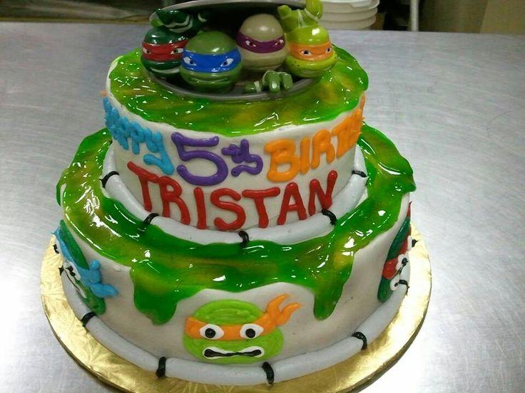 14 best Teenage Mutant Ninja Turtles Cakes images on Pinterest