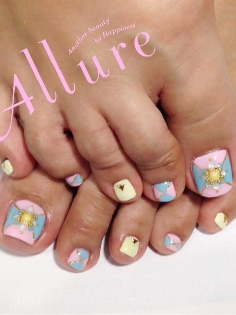 Yellow Toenails And Diabetes: 17 Best Images About UÑAS On Pinterest