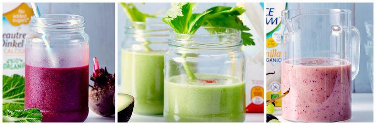 Proberen: 3 overheerlijke en gezonde smoothies die lief zijn voor je lijn