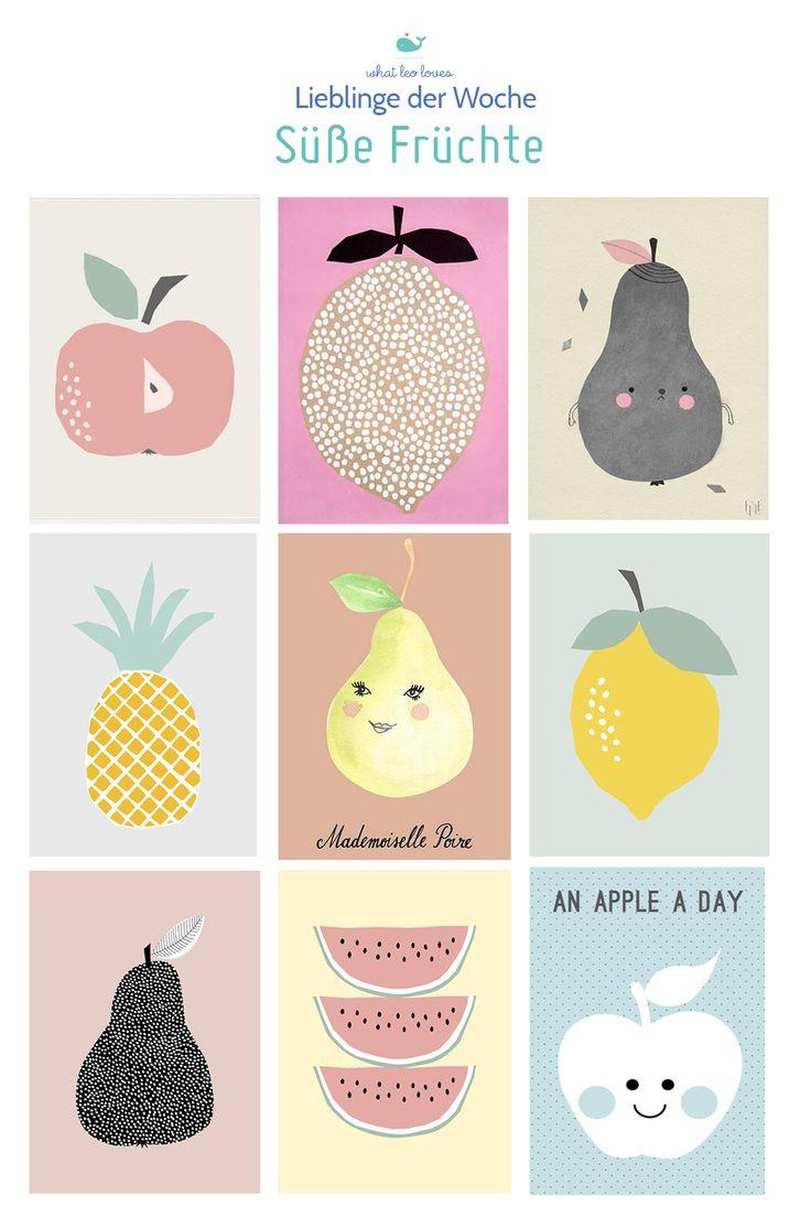 Diese 9 süßen Obstprints findest du bei diesen Shops und Anbietern...