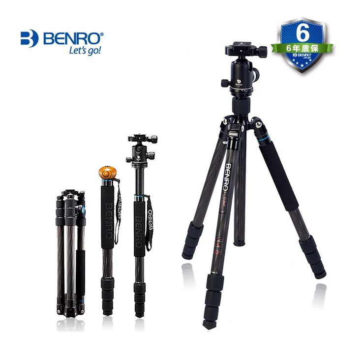 388.62$  Watch here - http://alint0.worldwells.pw/go.php?t=32747763949 - wholesale DHL gopro Benro C2282TV2 carbon fiber tripod monopod fold change alpenstocks Carrying Bag Kit, Max loading 18kg 388.62$