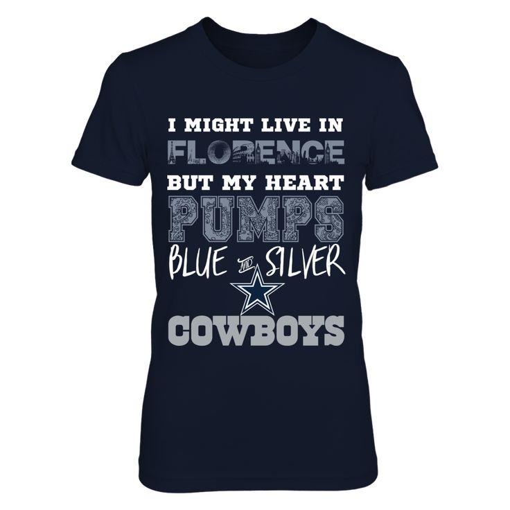 Dallas Cowboys Heart Pumps Florence Shirt T-Shirt, Dallas Cowboys Heart Pumps Florence  The Dallas Cowboys Collection, OFFICIAL MERCHANDISE  Available Products:          District Women's Premium T-Shirt - $29.95 District Men's Premium T-Shirt - $27.95 Next Level Women's Premium Racerback Tank - $29.95 Pack of 4 stickers - $10.00       . Buy now => http://brisktopia.com/3Bsa