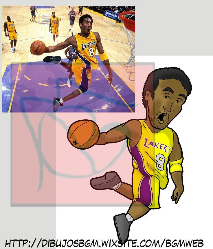 Kobe Bryant Laker 8 NBA