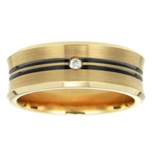 Peter W Beck launches a male wedding band that is available in a wide range of metals.