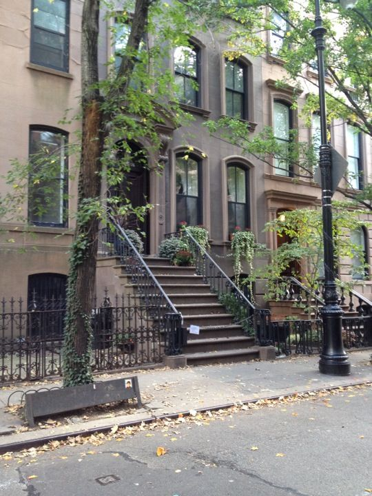 This could be Carrie Bradshaw's place, The Huxtable's OR Sesame Street. Just sayin'.