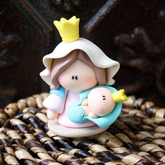 Mother of God  Virgen de Chiquinquira  First Communion/ por gavo, $12.00