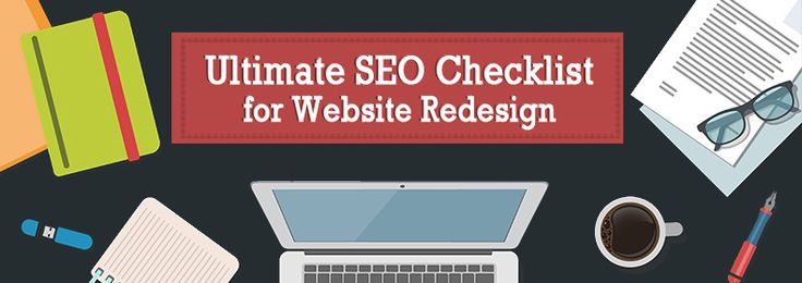 Ultimate SEO Checklist for Website Redesign (Infographic)