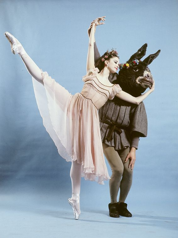 """New York City Ballet - """"A Midsummer Night""""s Dream"""" with Kay Mazzo and John Clifford, choreography by George Balanchine (New York)"""