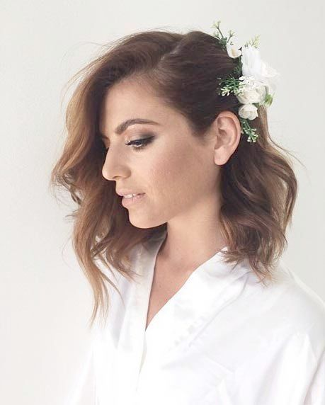 Wedding Hairstyles Off The Shoulder Dress Simple Wedding Hairstyles