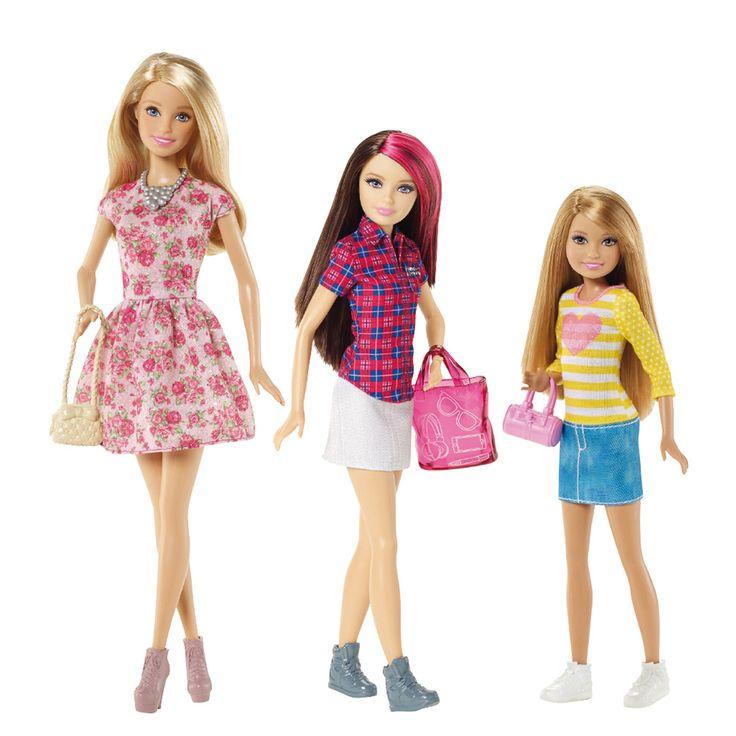 Surtido Hermanas de Barbie Mattel