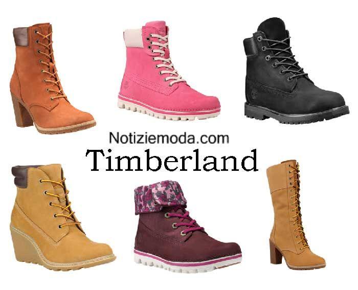 Boots Timberland autunno inverno 2016 2017 stivali donna