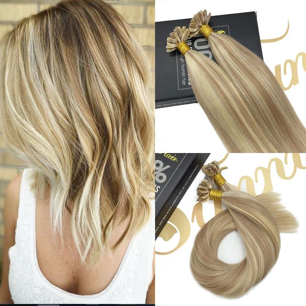 106 best sunny human hair extensions images on pinterest hair shop high quality u tip prebonded blonde remy human hair extensions sunnyhair pmusecretfo Image collections