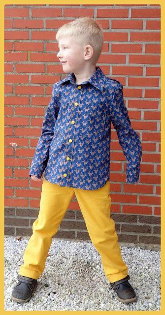 Lunatiek: Bill hemd (La Maison Victor) - Victor broek (Zelfgemaakte Kleertjes 3)